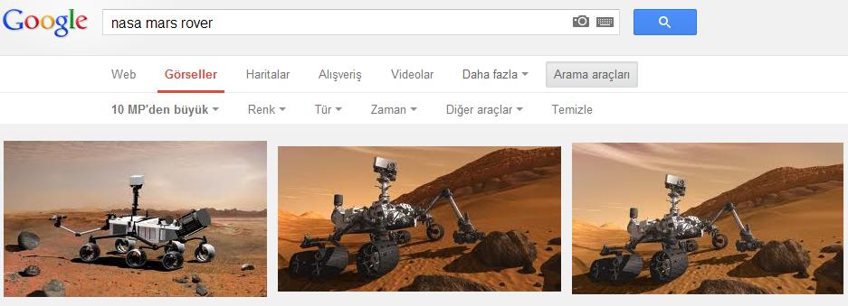 Google görsel arama ipuçları