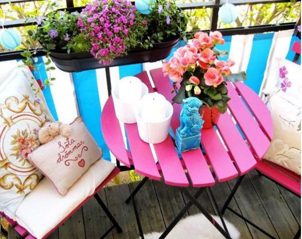Kucuk Balkonlara Cozum Onerileri Bordova