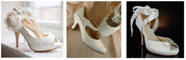 Süslü Gelinlik Ayakkabıları