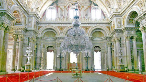 Dolmabahçe Sarayı - Muayede Salonu