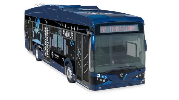 TEMSA Avenue EV Elektrikli Otobüs