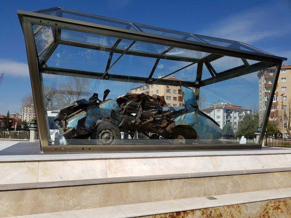 Uğur Mumcu Araba Enkazı