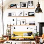 sarı mobilya ve dekorasyon