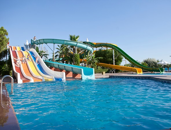 Paloma Otel Kaydıraklı Havuz